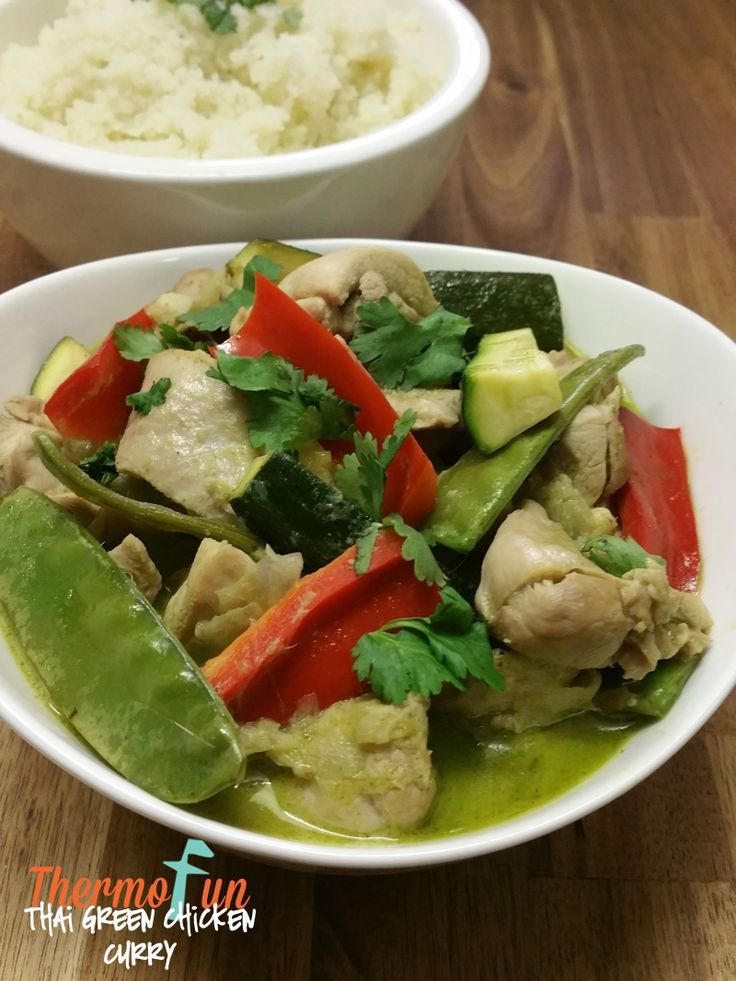 Thermomix Thai Green Chicken Curry - ThermoFun   Thermomix Recipes & Tips