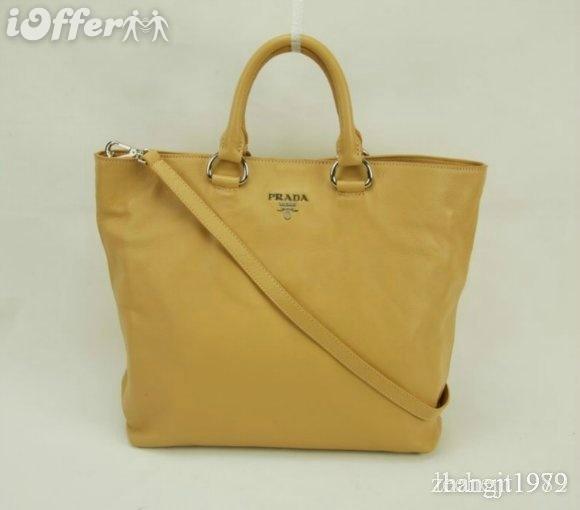 yellow leather prada bag
