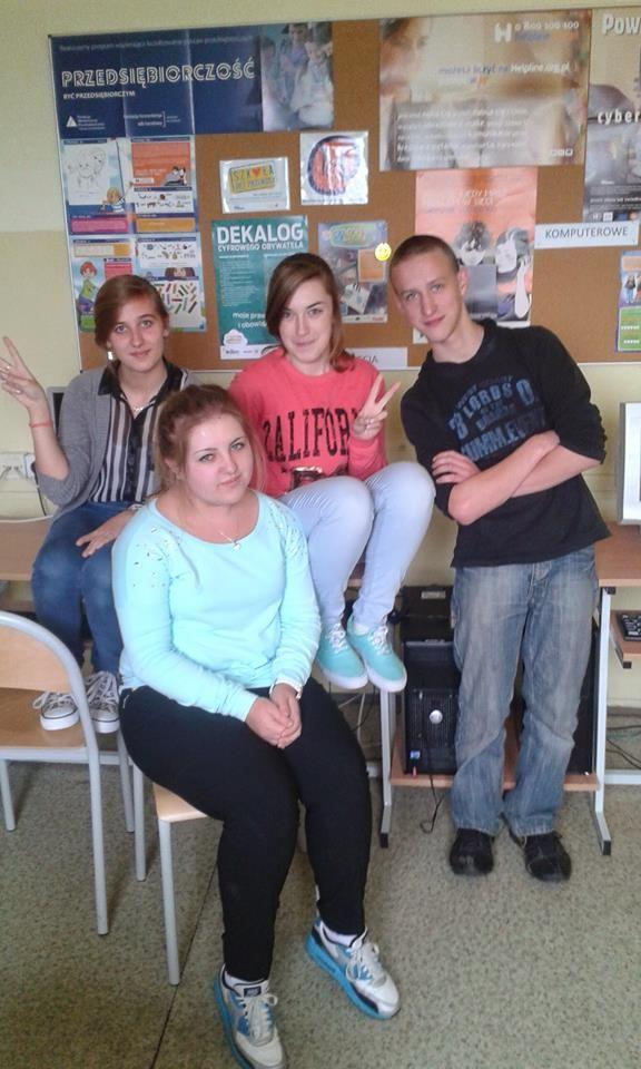 Grupa NIEOBOJĘTNI z Gimnazjum im. W.Rutkiewicz w Rząsce - BLOG http://nieobojetni133828.blogspot.com/ FB: https://www.facebook.com/profile.php?id=100004317766451