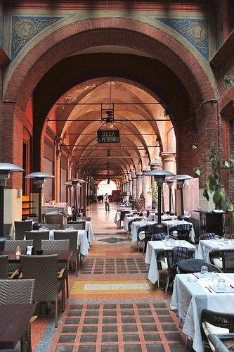 Bologna (Italy) Portico della Morte