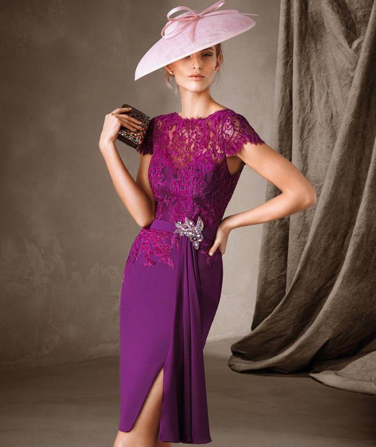Mejores 53 imágenes de Pronovias Cocktail en Pinterest | Vestidos de ...