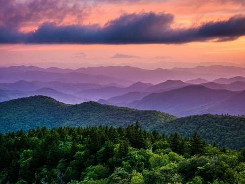 The beauty of the Blue Ridge mountains along the Blue Ridge Parkway and surrounding Asheville, NC --- Image: TripAdvisor