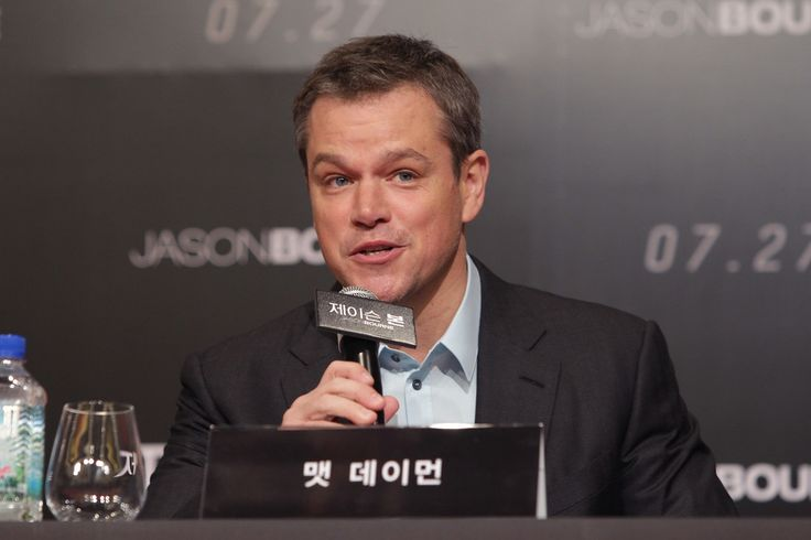 Matt Damon attends the 'Jason Bourne' press conference on July 8, 2016 in Seoul, South Korea. Matt Damon is visiting South Korea to promote his recent film 'Jason Bourne' which will be released in South Korea on July 27.