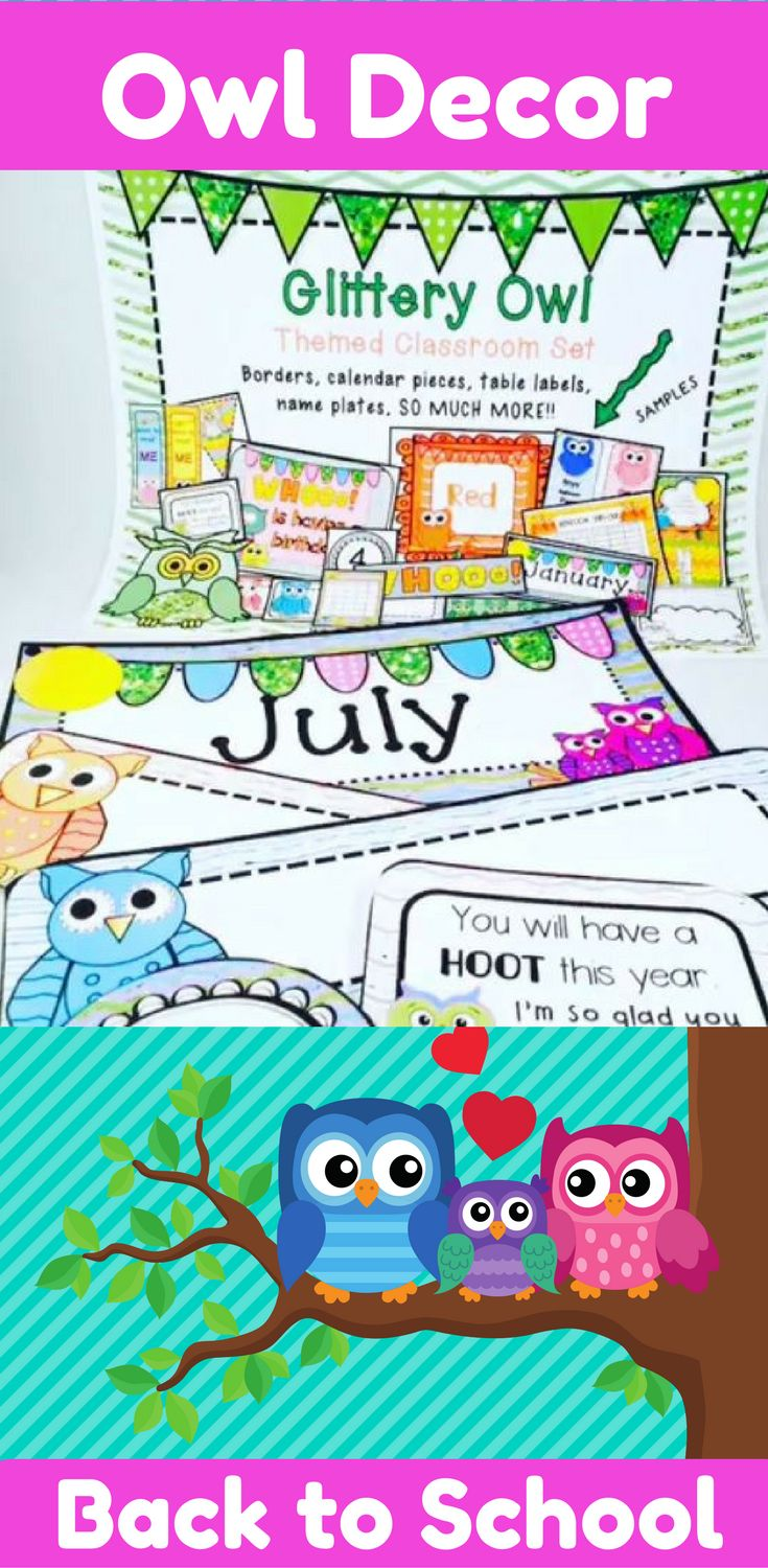 Owl Classroom Decor: Brighten up your room with this owl themed classroom decor pack. Classroom themes make going back to school fun. They make your room an enjoyable place to be for those 180 days. A classroom theme can get kids excited about their new class. This is a teacher resource pack that includes owl themed resources that have a sparkle of glitter..... bright and colorful!! It can be used alone or add it to other beach themed resources to spread the theme all throughout the…