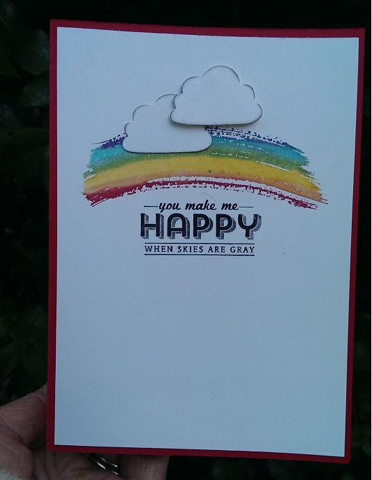 "rainbow and ""you are my sunshine"" quotation"