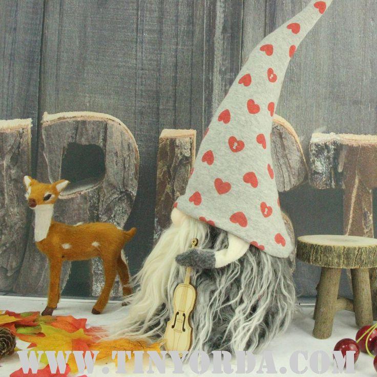 Jultomten 46 cm Tall