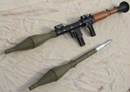 Soviet RPG-7 Rocket-propelled grenade Launcher
