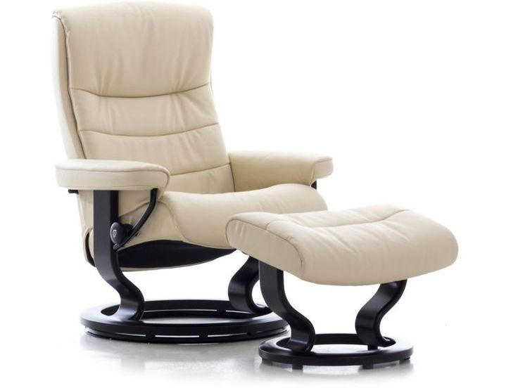 De beste idee n over fauteuil stressless op pinterest - Eigentijdse pouf ...