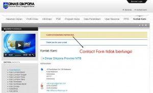 Situs Resmi DIKPORA NTB Tidak Terawat | Radio Internet Lombok [R][i][L]