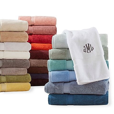 This luxurious Wamsutta 805 Turkish Cotton Bath Towel Collection is crafted of 2-ply combed Turkish cotton for an ultra-soft feel you'll love to wrap yourself in. It has fashionable dobby trim adds a chic touch.