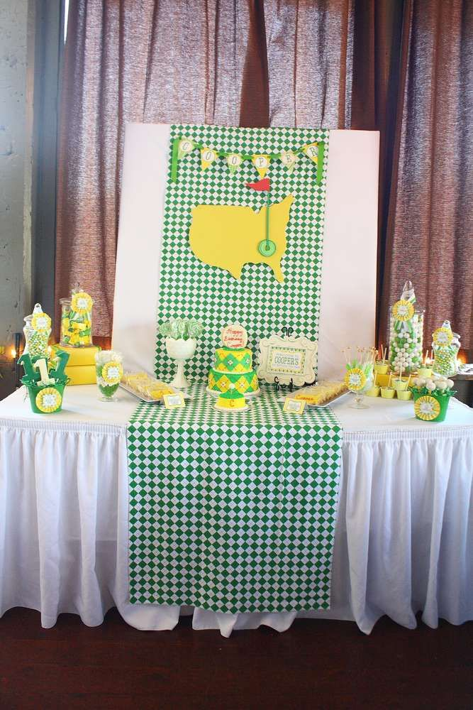 Golf Birthday Party Ideas | Photo 24 of 67 | Catch My Party