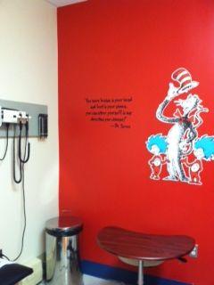 Our Pediatric Exam Room