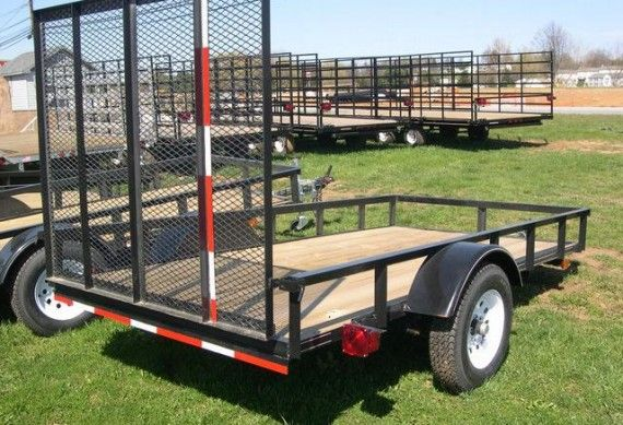 If you need a landscape trailer for your farm, choose Trailer Superstore!