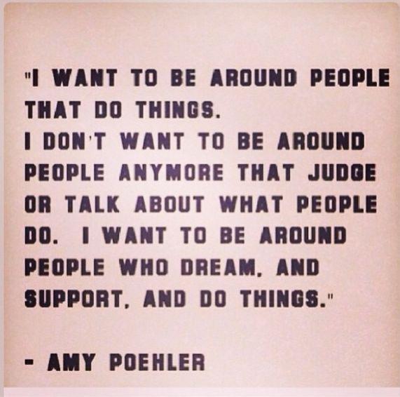 Amy Poehler quote / Insight