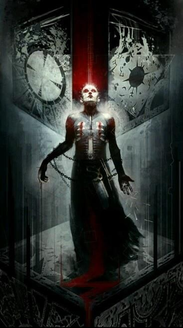 Hellraiser - The movie with the best cenobites.......er, whatever. Very cool, very creepy.