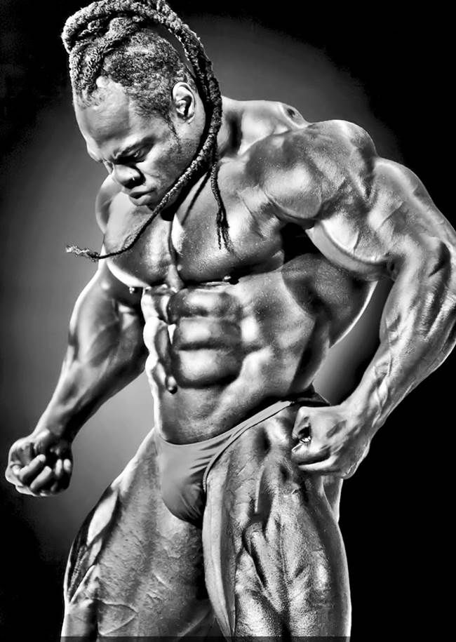 Kai Greene pictures and photos mr olympia 2014 posing shot