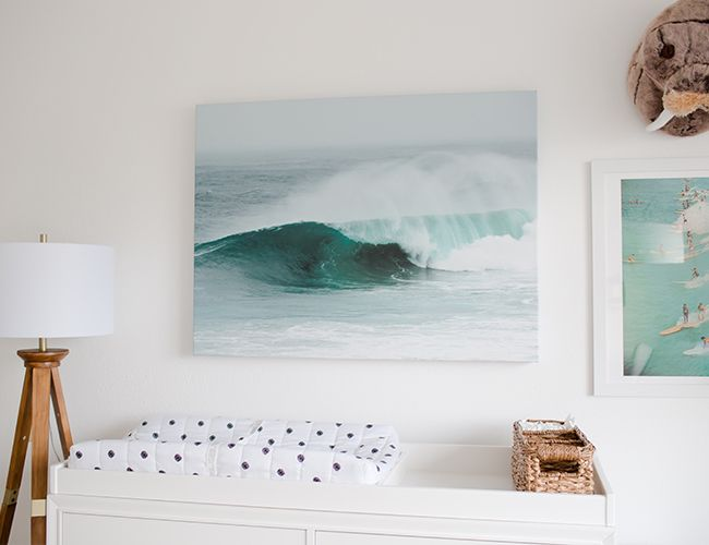 Ocean Surf Inspired Nursery - Inspired By This