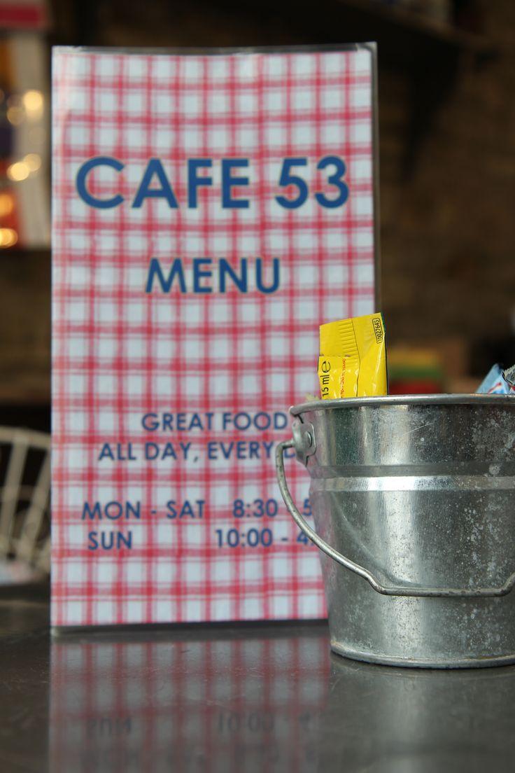 Cafe 53, 53 Long Street, Tetbury in Tetbury, Gloucestershire GL8 8AA www.cafe53.co.uk