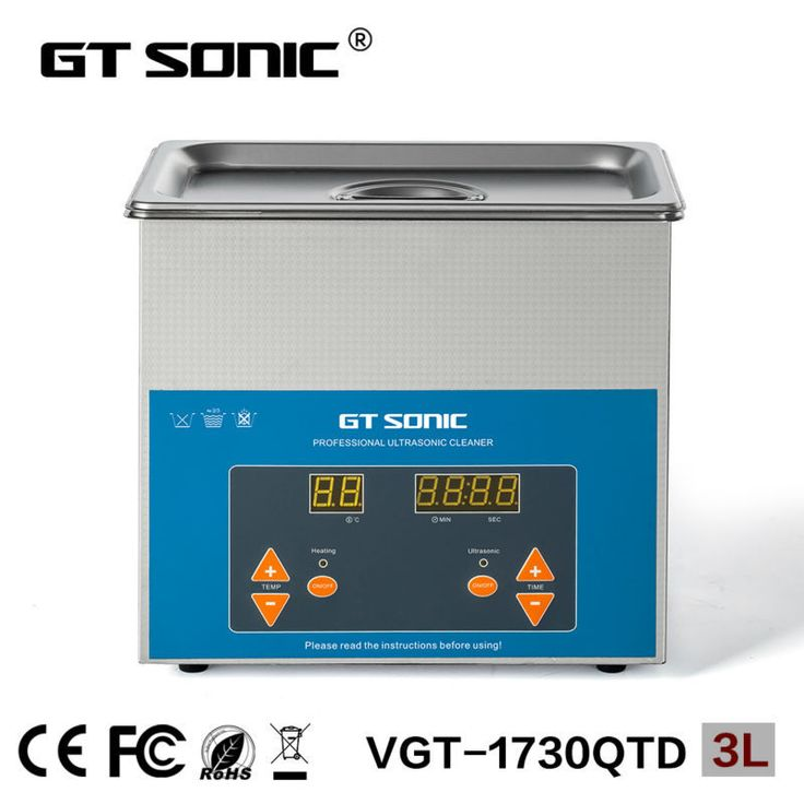3L laboratory ultrasonic bath cleaner for dish jar crucible China supplier VGT-1730QTD with free basket