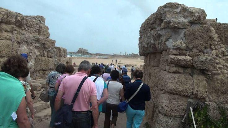 Viagem à Terra Santa (04) - Chegada a Cesareia Marítima...