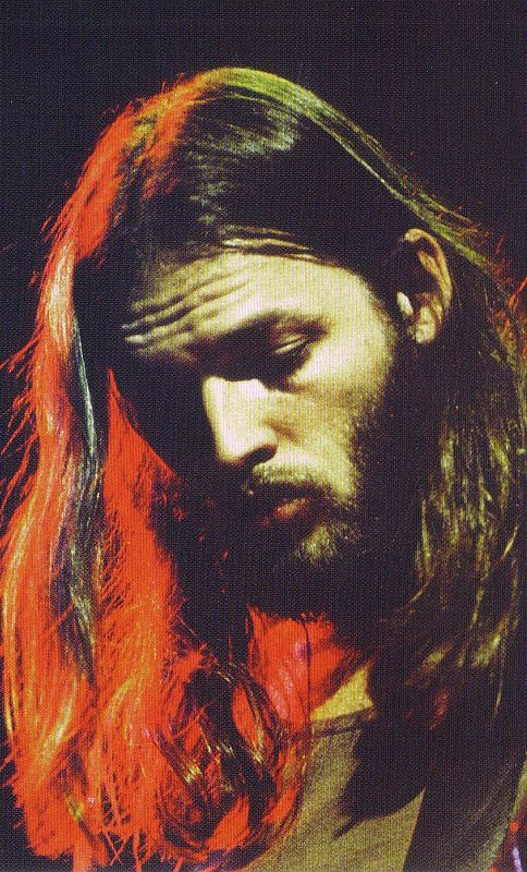David Gilmour Pink Floyd. From the peace years between two ages of  Brylcreem and war