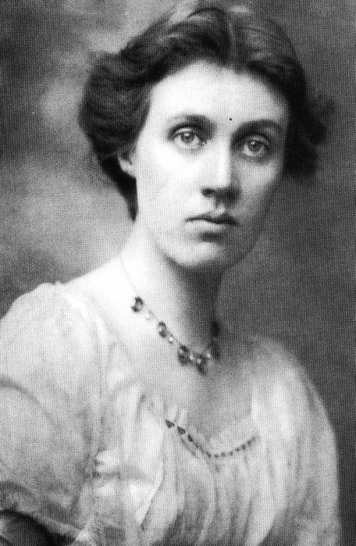 Vanessa Bell, Artist and sister of Virginia Woolf.