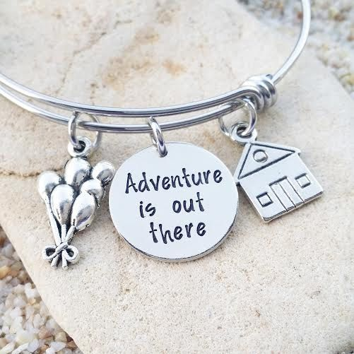 Beautiful Hand Stamped Disney Inspired Jewelry