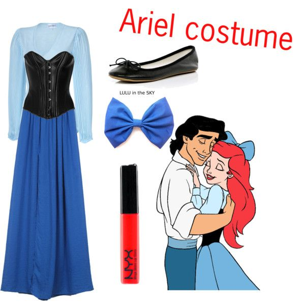 """""""Ariel costume"""" by kittykat89 on Polyvore"""