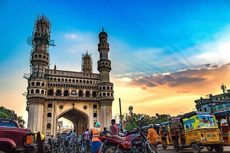 Follow➡@Topindianphoto✔ For the best Travel Content in the world��. Photo by :- @capturesbynick  Happy to represent wonderful artist. ➡➡➡➡➡➡➡➡➡➡➡➡➡➡➡➡➡➡➡➡ Charminar and a sunrise like this �� . . Can't get enough of this place! I get to capture this beauty in a new perspective every time I get to visit this place.. Such a beautiful sunrise today �� . . SS 1/800 F 5.6 ISO 200 . . For features:- 1. Follow me @Topindianphoto 2. Comment on recent pics.. 3. Use my hashtag #topindianphoto . 4…