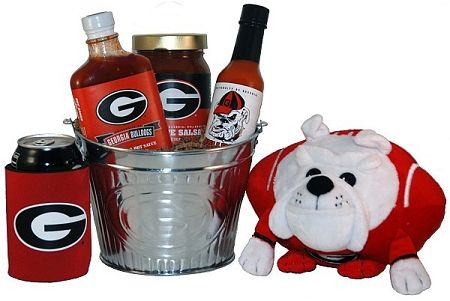 University of Georgia Tailgate Grilling Gift Basket.  from @giftprose
