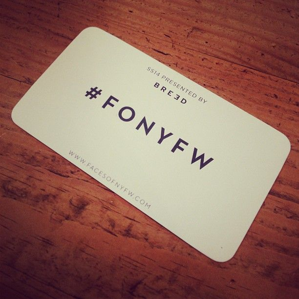 Faces of NYFW #MBFW #NYFW #fashion #photography #card
