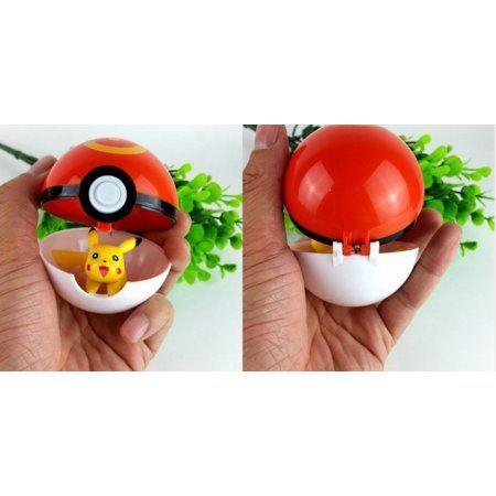 Pokemon Pokeball Cosplay Pop-up Poke Ball Fun Toys with Pikachu Figure
