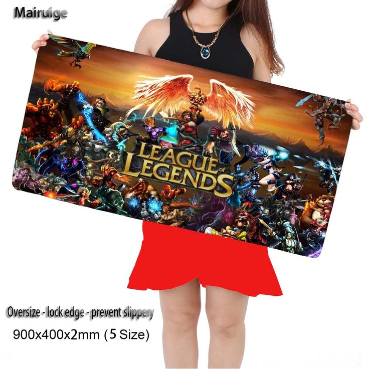 LOL League of Legends Large Mouse Pad 900x300mm Pad To Mouse Notbook Computer Mousepad Best Smouse Mats for Cs Go Overwatch DOTA