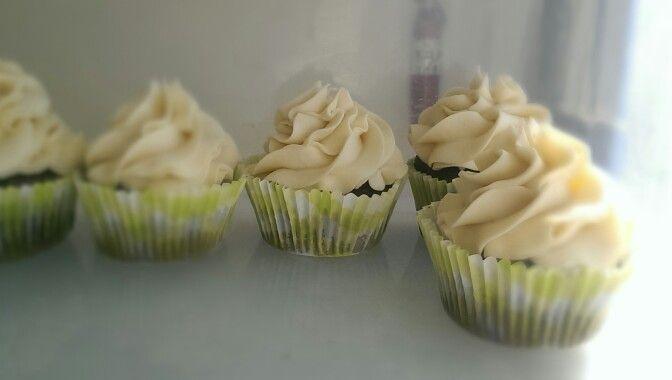 Chocolate Citrus Gluten-free cupcakes