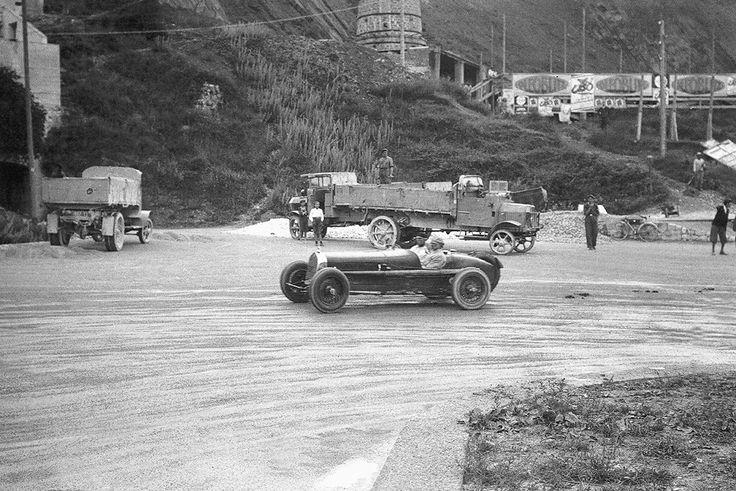 Corsa TriesteOpicina 15 giugno 1930. Tazio Nuvolari alla