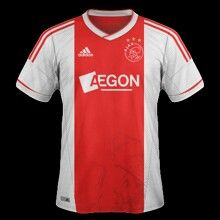 Ajax Amsterdam home shirt for 2012-13.