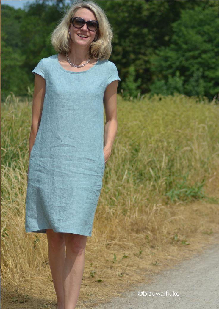 Papierschnittmuster Kleid Ibella Gr. 46-52