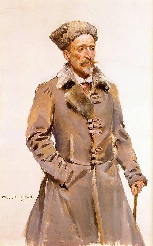 Archduke Karl Stefan. Artist: Wojciech Kossak. 1911.