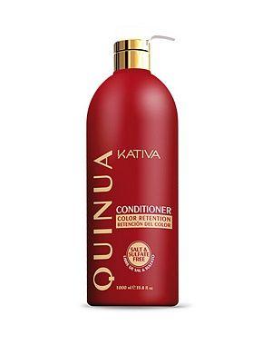 "Кондиционер ""Защита цвета"" KATIVA для всех типов волос QUINUA, 1000 мл"