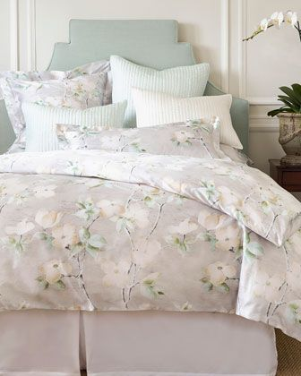 King Dogwood Duvet Cover Neiman Marcus Style And Bedding