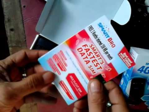 Lazada Philippines Online - ZTE Smart Bro Pocket WiFi Unboxing