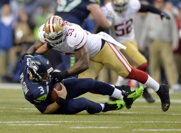 49ers linebacker NaVorro Bowman sustains horrific leg injury against Seahawks