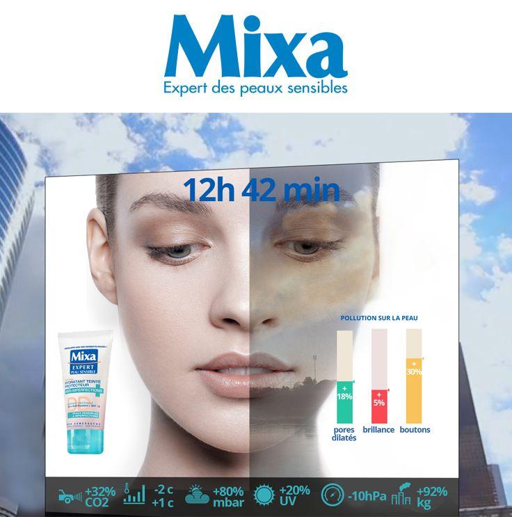 MIXA, Cosmetic Campagne 360, digitale virale et évènementielle. En team avec la conceptrice Esther Maarek. Pour l'agence Les Gaulois