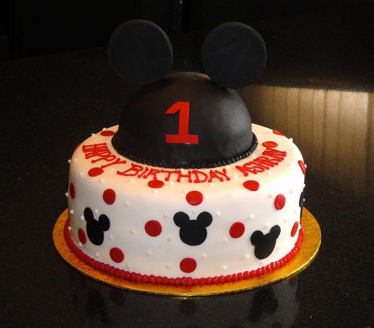 Mickey Mouse Boy 1st Birthday Cake Ideas