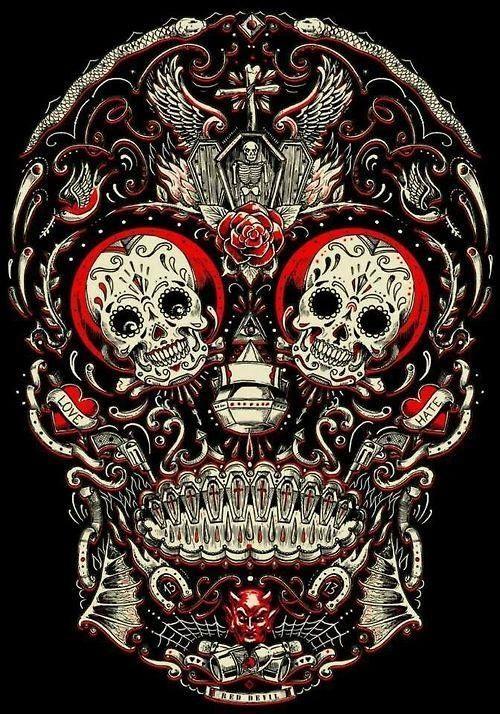 96 best CATRINAS y CALAVERAS images on Pinterest  Tattoo ideas