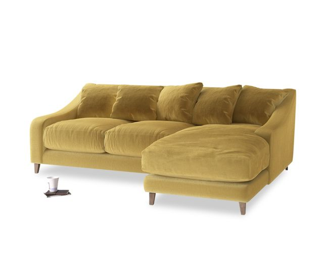 Gorgeous Upholstered Sofas | Oscar Chaise | Loaf