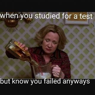 When there's only one solution to bombing your test: | 27 Pictures That Will Make Way Too Much Sense To College Students