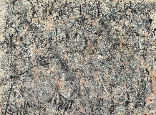 Number 1, 1950 (Lavender Mist)   Jackson Pollock (1912-1956)  Location: National Gallery of Art, Washington DC