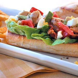 Cobb Salad Hoagies We used the classic cobb salad ingredients to make this hearty dinner sandwich.