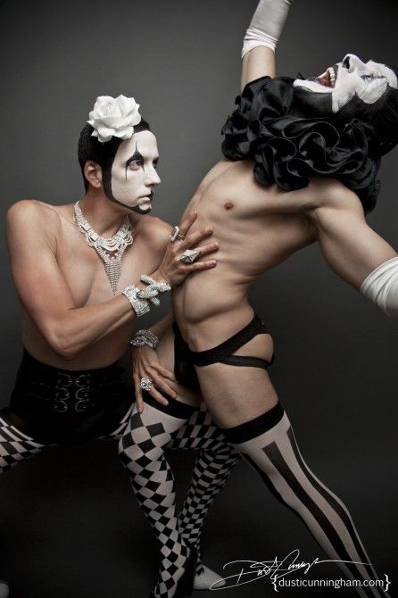PHOTOS: Hot Gay Clowns Make Us Forget Our Biggest Childhood Fears / Queerty